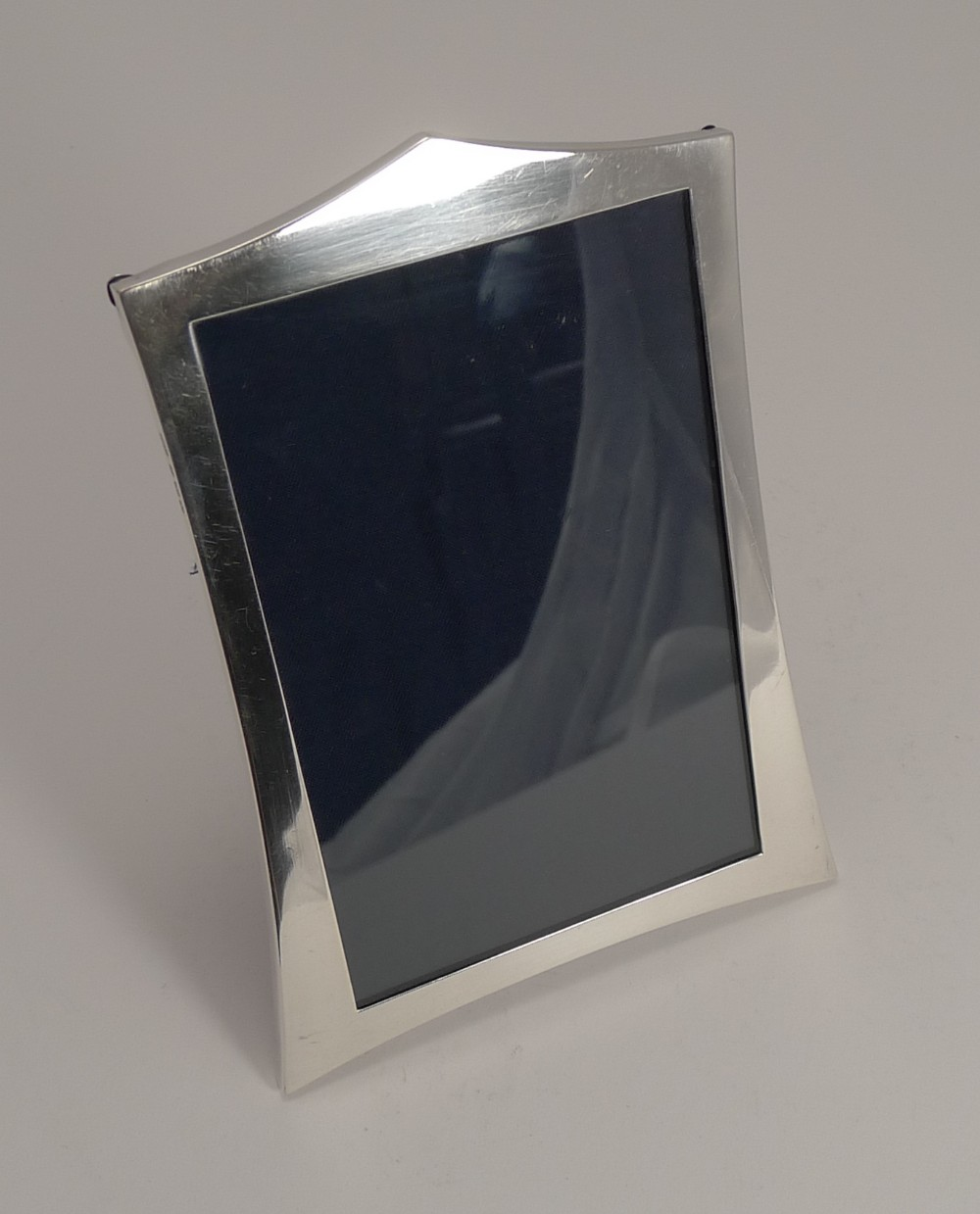 elegant english sterling silver photograph frame 1920