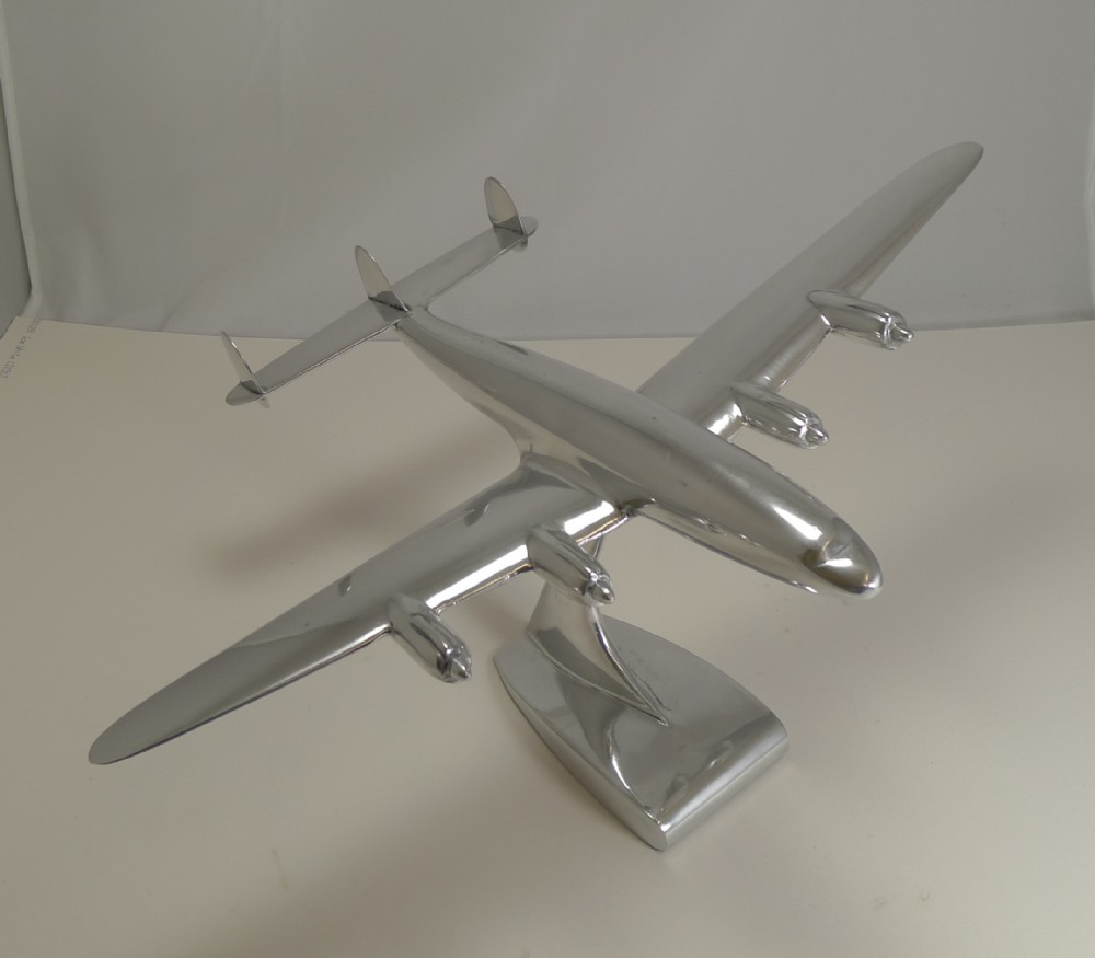 vintage lockheed constellation plane model c1950
